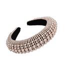 Thick sponge pearl hair hoop fashion headband hair accessories wholesale NHMD205246