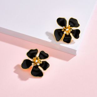 Yi wu jewelry new bohemian earrings flower earrings women wholesale NHOT205722's discount tags