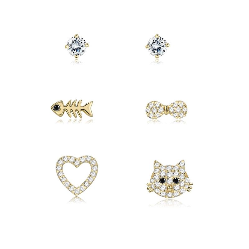 Jewelry fashion simple animal earrings Yiwu Wholesale NHKL205349