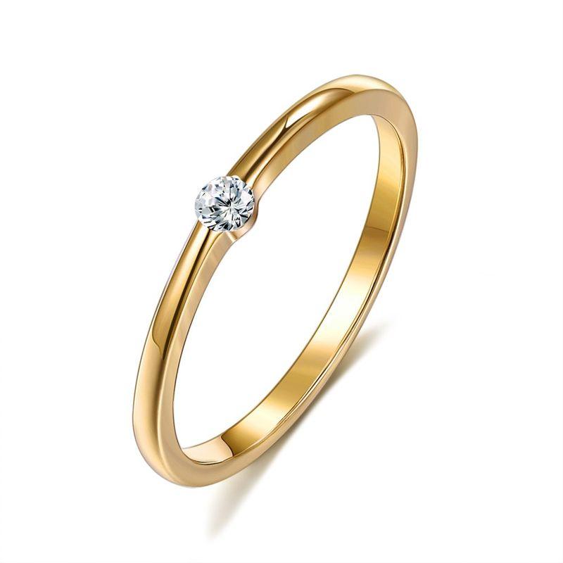Jewelry fashion simple ring Yiwu wholesale NHKL205362