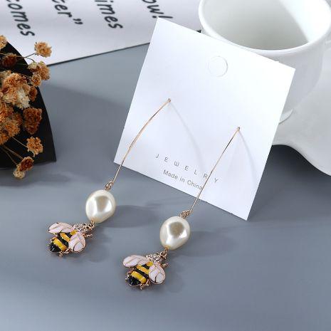 Boucles d'oreilles créatives imitation d'abeille coréenne en gros NHPS205304's discount tags