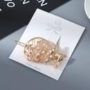 Korean Fashion Retro Five Star Pearl Cheap Hair Clip Wholesale NHPS205308