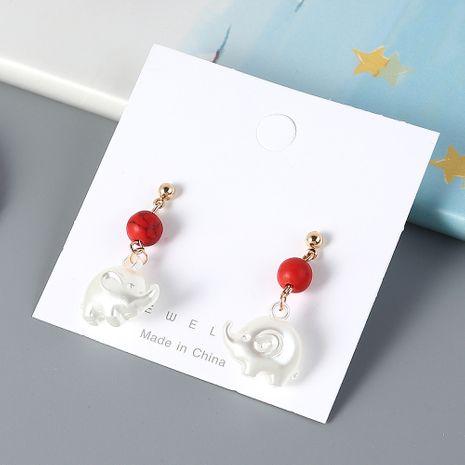 Boucles d'oreilles bébé éléphant acrylique mode coréenne en gros NHPS205309's discount tags