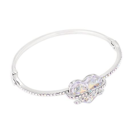 New Fashion Love Crystal Bangle en gros NHSE205315's discount tags