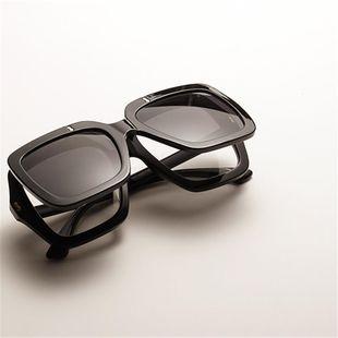 Las nuevas gafas de sol grandes transparentes coloridas de la moda flip los vidrios dobles al por mayor NHXU205397's discount tags