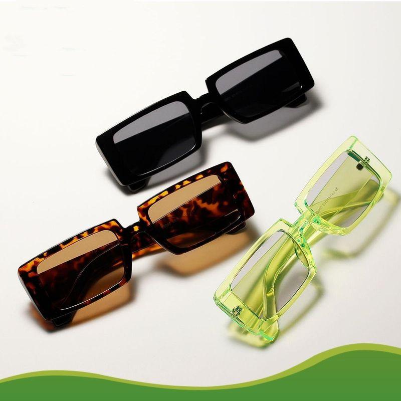 New fashion square retro sunglasses wholesale NHXU205402