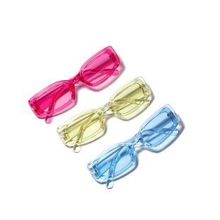 Nuevas gafas de sol cuadradas de color caramelo de moda gafas transparentes al por mayor NHXU205408's discount tags