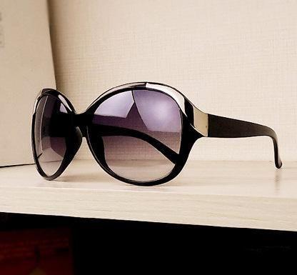 New Fashion Square Metal Studded Glasses Round Retro Sunglasses Wholesale NHXU205415