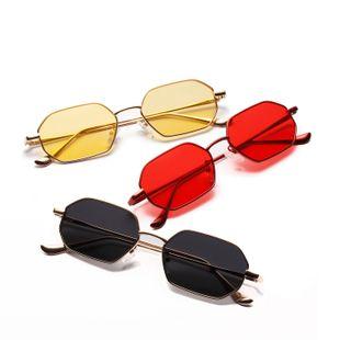 Gafas de sol con montura de metal gafas pequeñas con montura marina transparente NHXU205423's discount tags