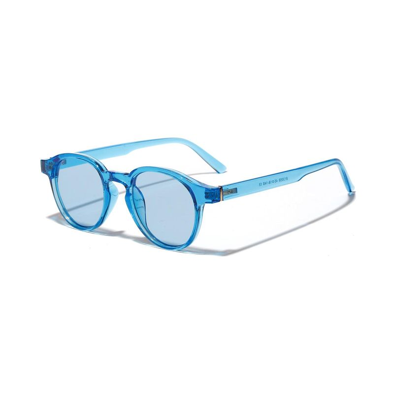 Retro bundy candy colored sunglasses hip hop small frame glasses wholesale NHXU205426