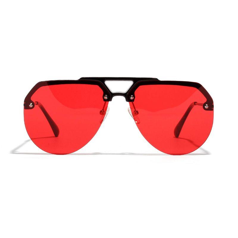 Korean Big Frame Trend Half Frame Sunglasses Hip Hop Trend Sunglasses Wholesale NHXU205422