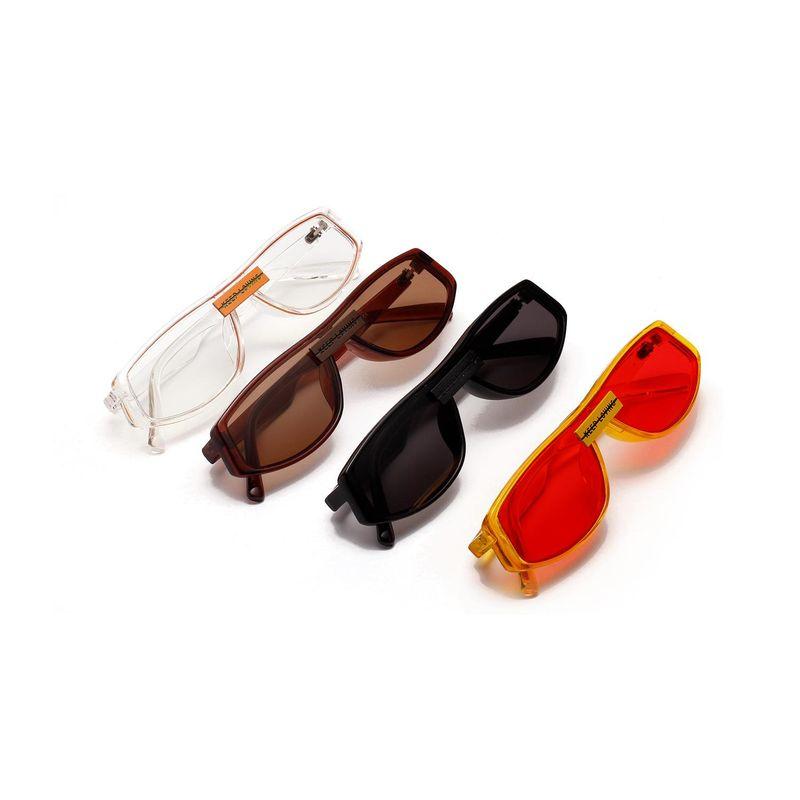 New fashion red sunglasses retro box fashion sunglasses wholesale NHXU205417