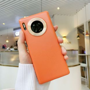 Huawei mate 30 / iphone 11 funda para teléfono móvil piel de cuero esmerilada ultrafina NHKI205475's discount tags