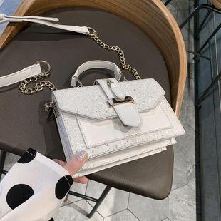 Bolso de moda inclinado primavera y verano femenino nuevo bolso cuadrado NHTC205494's discount tags