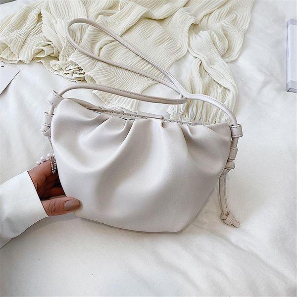 Bag design women bag new shoulder messenger bag cloud bag NHTC205498