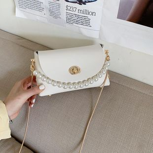 Small bags women's bags new cross-body bags autumn and winter fashion chain saddle bags NHTC205499's discount tags