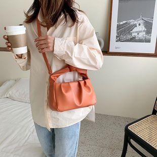 Bags Women Small Bags New Fashion Messenger Bags Shoulder Portable Cloud Bags NHTC205528's discount tags