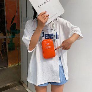 Bolso pequeño nuevo bolso coreano simple para mujer bolso cuadrado pequeño hombro simple NHTC205530's discount tags