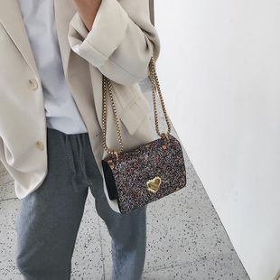 Women's new fashion chain Messenger bag casual shoulder small square bag NHTC205531's discount tags