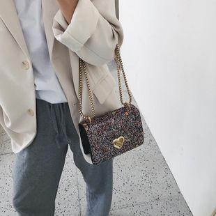 La nueva cadena de moda de las mujeres Messenger bag casual hombro pequeño bolso cuadrado NHTC205531's discount tags