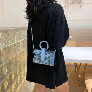 Women's new Korean ring portable messenger bag NHTC205542's discount tags