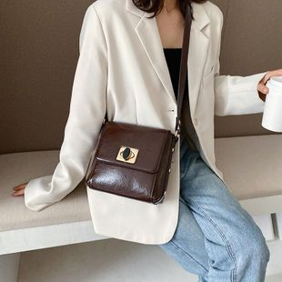 Niche bags women's new Korean fashion shoulder bag Messenger bag NHTC205631's discount tags