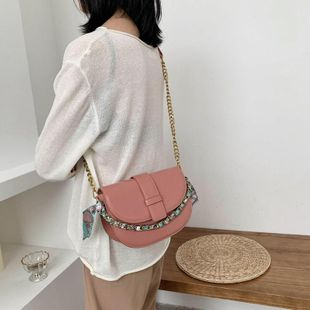 Small bags women's bags new Korean messenger bag fashion shoulder saddle bag NHTC205653's discount tags