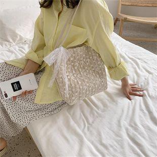 Bolsos para mujer Nuevas bolsas de asas de gran capacidad de moda coreana Bolsos de hombro de bufanda casual NHTC205663's discount tags
