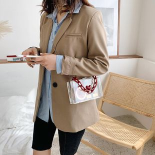 Small bags women's new Korean fashion chain Messenger bag shoulder small square bag NHTC205664's discount tags