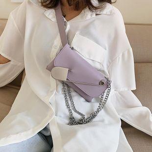 New small bag women black big pin folding mini waist bag belt diagonal shoulder bag belt NHTC205666's discount tags