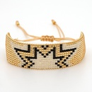 Fashion Miyuki beaded rivet love punk style female bracelet bohemian jewelry NHGW199775