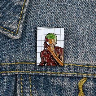 Collar de esmalte pin de aleación de aceite de goteo broche salvaje al por mayor NHBO199824's discount tags