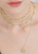 Fashion clavicle chain mix and match multilayer necklace women39s necklace NHYT199867