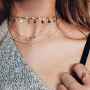 New Fashion Necklace Female Multilayer Necklace Simple Clavicle Chain Jewelry Wholesale NHYT199868