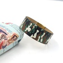 Fashion jewelry youth camouflage PU leather wide bracelet personality men and women bracelet NHHM199906