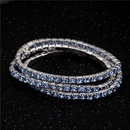 Single Drain Diamond Bracelet Elastic Bridal Bracelet Single Row Flash Diamond Elastic Crystal Bracelet NHIM199950