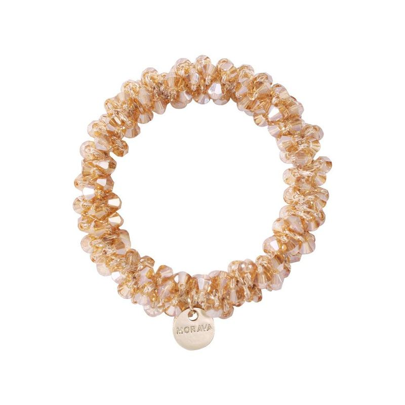 Korean new crystal hair ring head rope elastic cheap hair accessories women wholesale NHMD205829