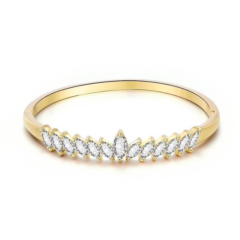 New female zircon bracelet jewelry fashion simple bracelet NHXS205841