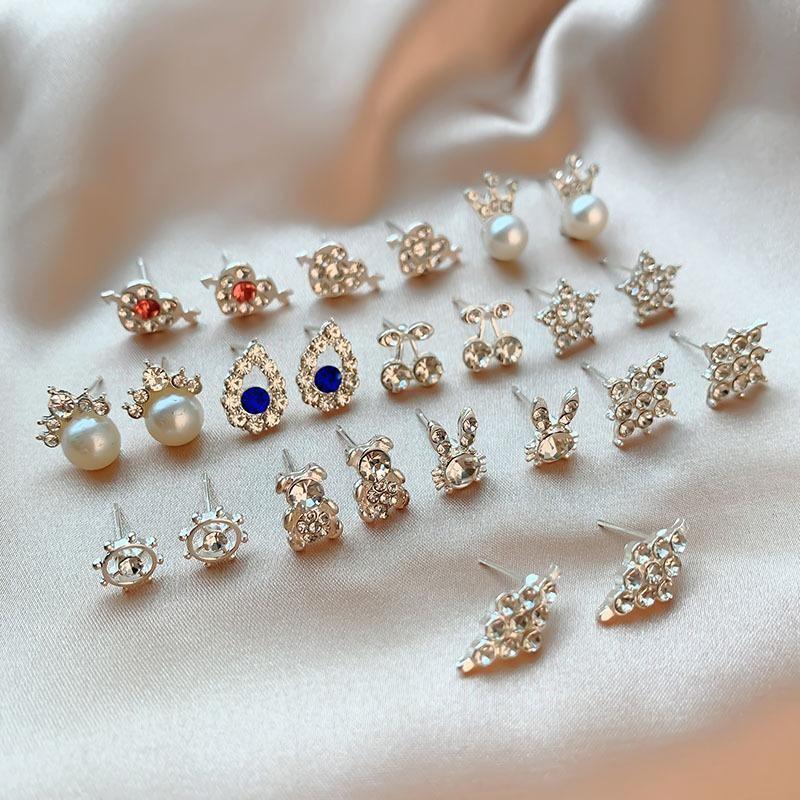 Korean new animal fruit shape earrings jewelry wholesale NHSD205858