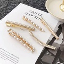 Super Fairy Pearl Rhinestone Hair Clip Korean Adult Wild Card Hair Bangs Hair Accessories Duck Clip Cheap Clip Wholesale NHDQ205920