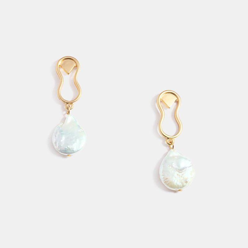 New irregular boho ethnic style earrings  NHQS205783