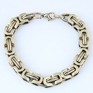 Yiwu jewelry wholesale metal chain bracelet NHSC206053's discount tags