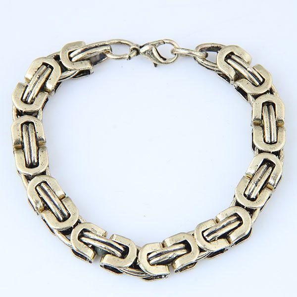 Yiwu jewelry wholesale metal chain bracelet NHSC206053
