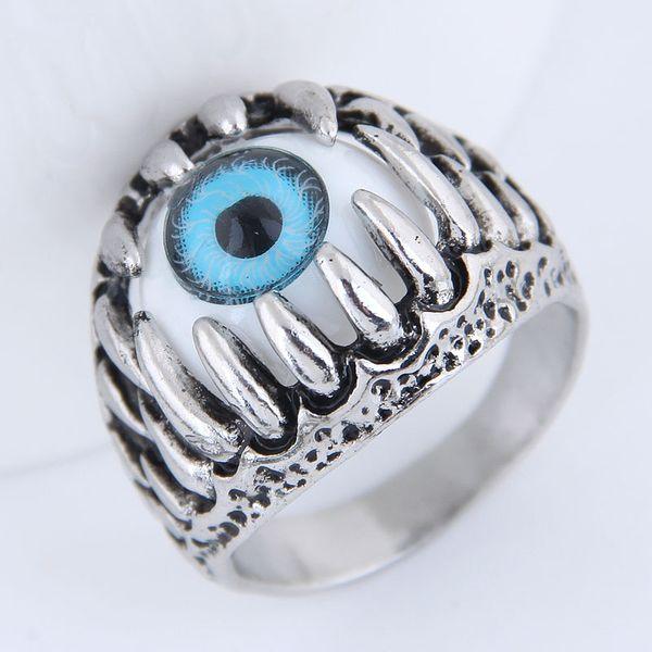 Anillo de ojo de diablo simple punk de moda al por mayor de joyería Yiwu NHSC206052
