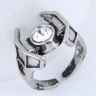 Yiwu jewelry wholesale fashion punk retro simple unique ring NHSC206211's discount tags