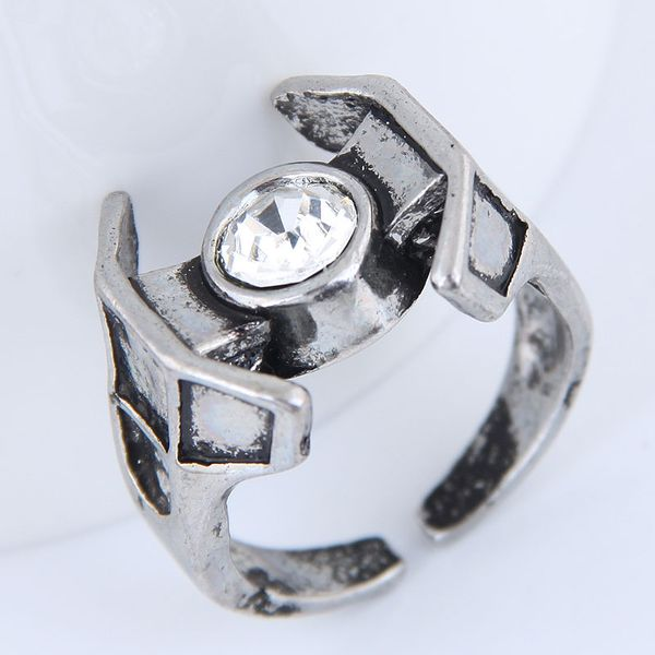 Yiwu jewelry wholesale fashion punk retro simple unique ring NHSC206211