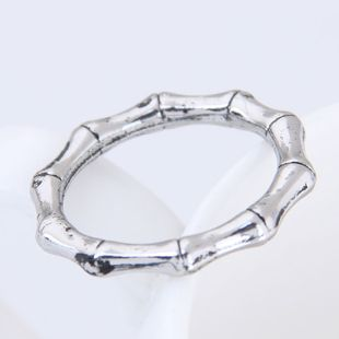 Yiwu jewelry wholesale fashion bamboo festival retro simple ring NHSC206209's discount tags