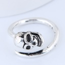 Yiwu Jewelry Wholesale Fashion Skull Retro Simple Open Ring NHSC206208