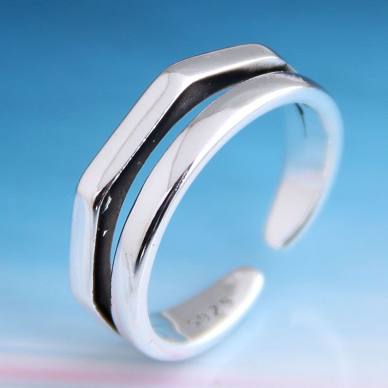 Fashion vintage personality open ring NHSC206230