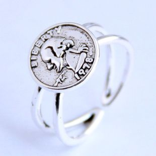 Fashion vintage personality open ring NHSC206218's discount tags